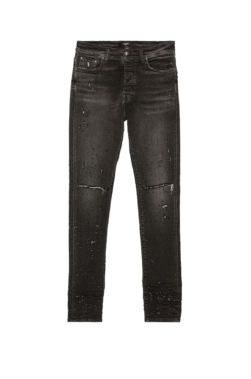Image 1 of Amiri Shotgun Jean in Aged Grey