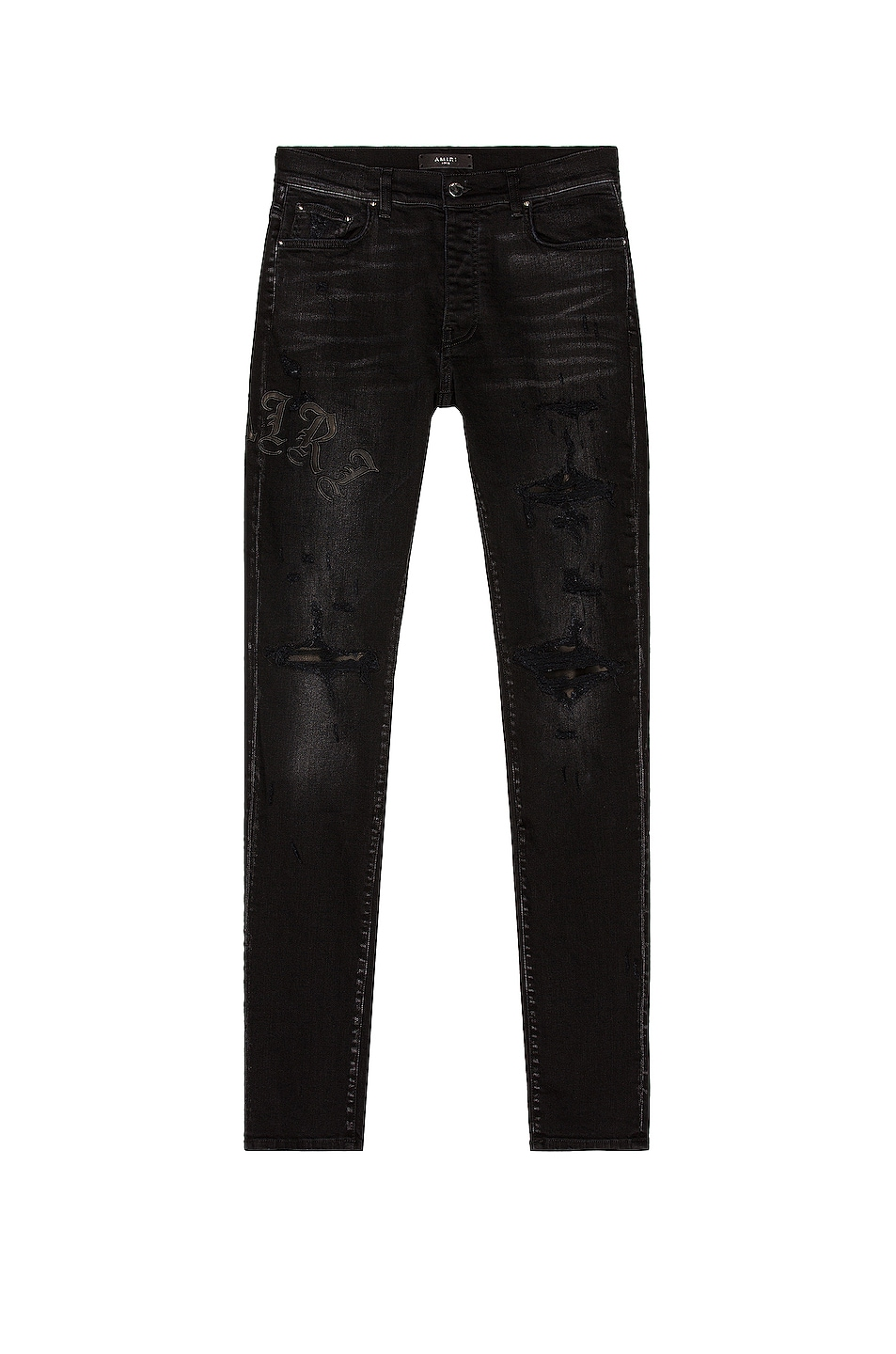 Image 1 of Amiri Old English Jean in Antique Black