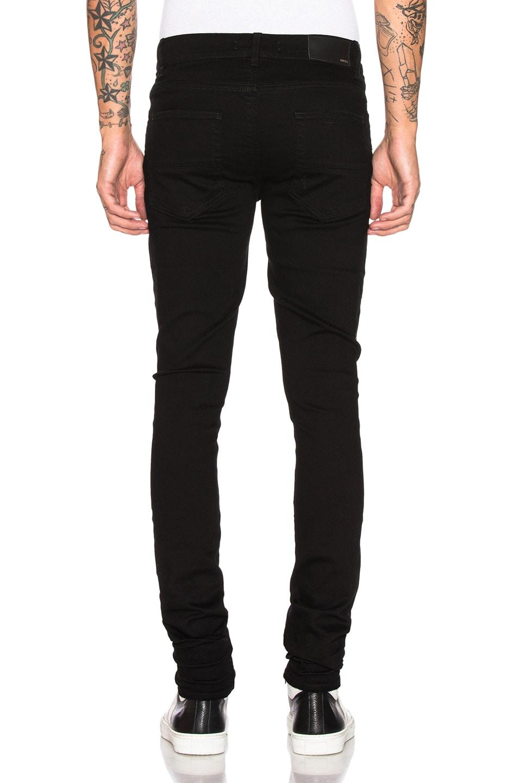 Image 3 of Amiri Stack Jean in Black