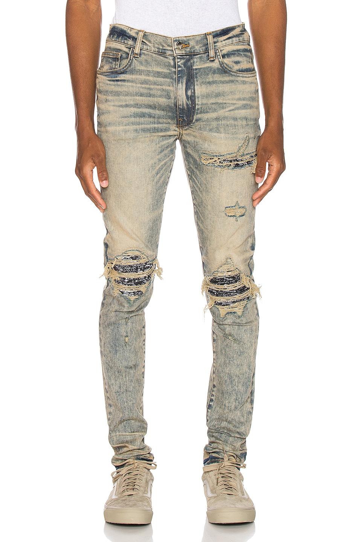 Image 1 of Amiri MX1 Bandana Jean in Dirty Indigo