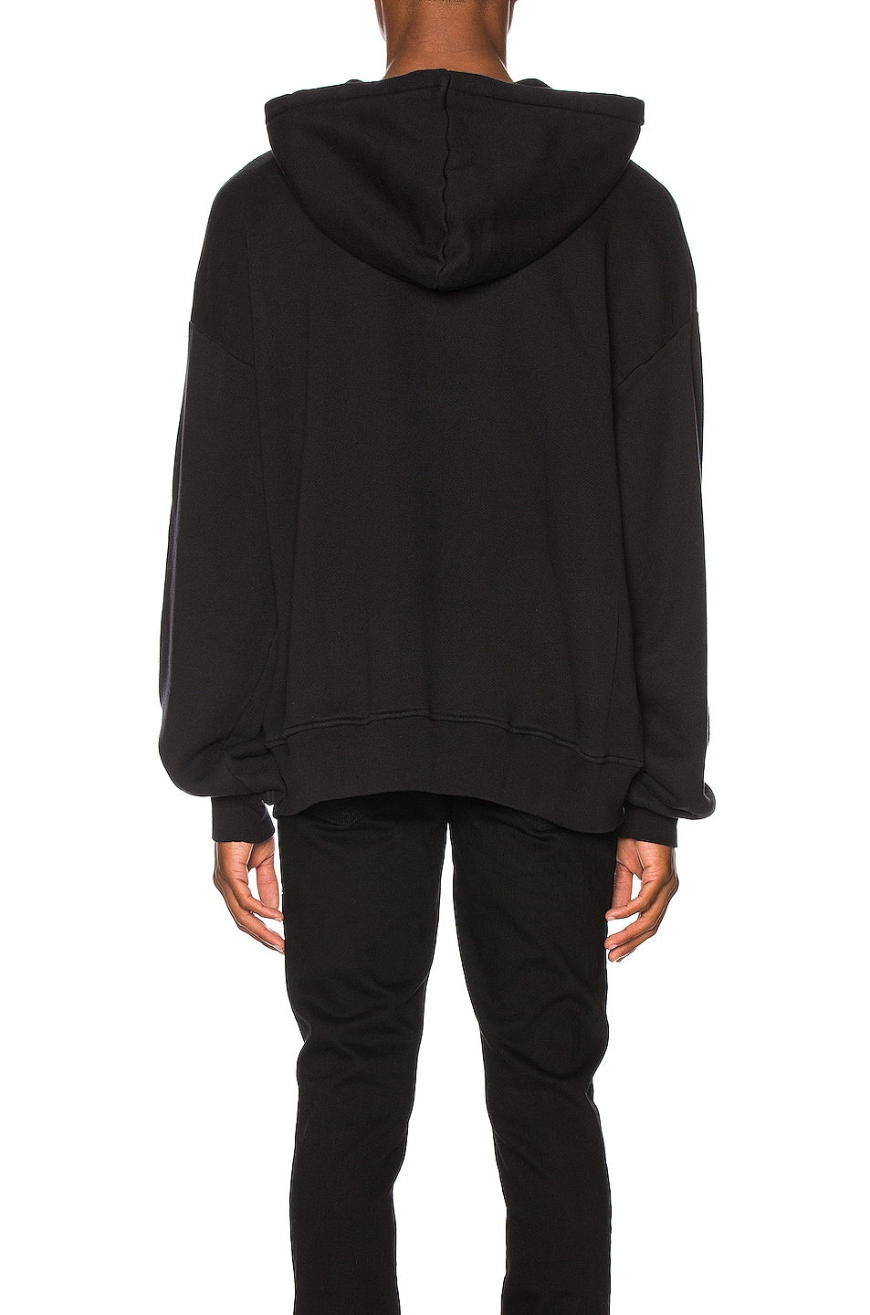 Image 3 of Amiri Been Through The Fire Hoodie in Tar