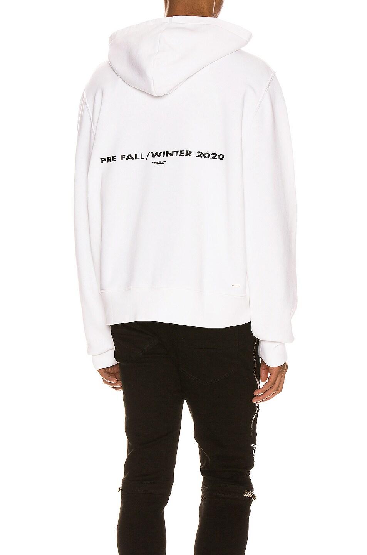 Image 1 of Amiri Pre FW20 AMIRI Hoodie in White