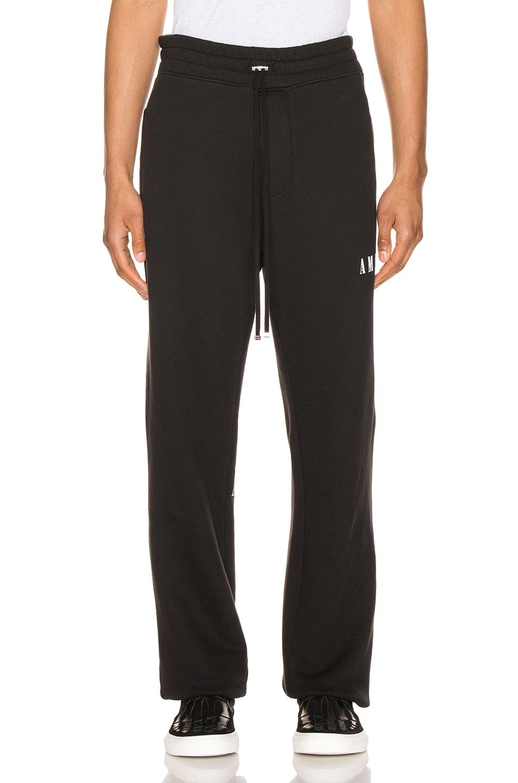 Image 2 of Amiri Dagger Sweatpants in Black