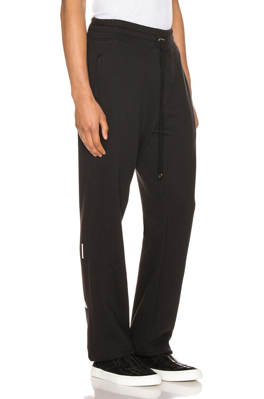 Image 3 of Amiri Dagger Sweatpants in Black