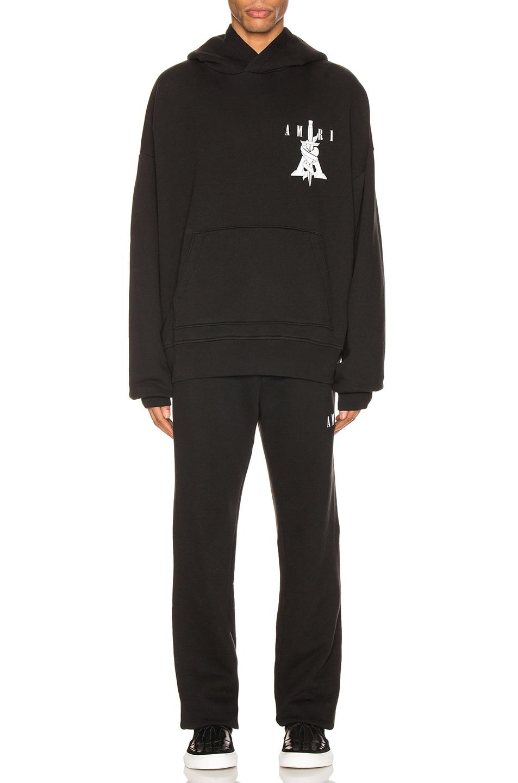 Image 5 of Amiri Dagger Sweatpants in Black