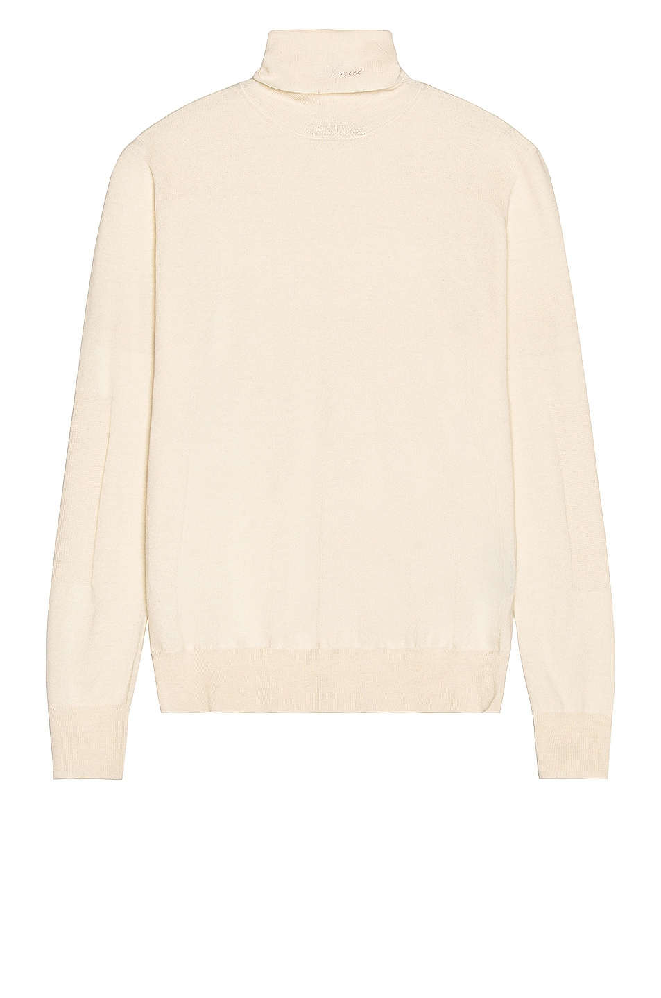 Image 1 of Amiri Fitted Wool Turtleneck in Alabaster