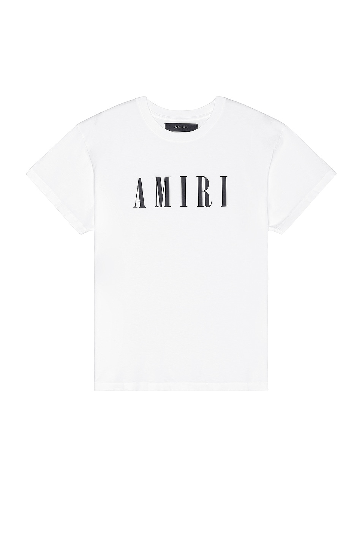 Image 1 of Amiri Core Logo Tee in White