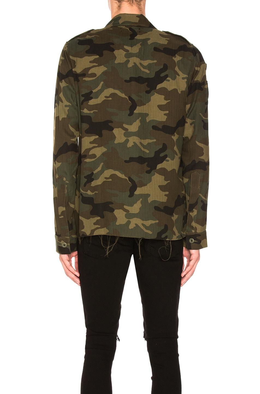 412fd47723bb5 Image 3 of Amiri Military Shirt in Camo