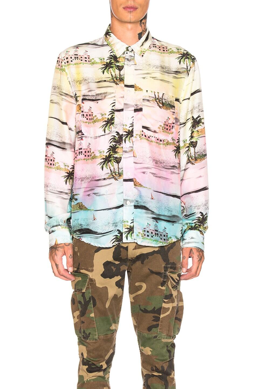 Amiri Beverly Hills Hawaiian Shirt