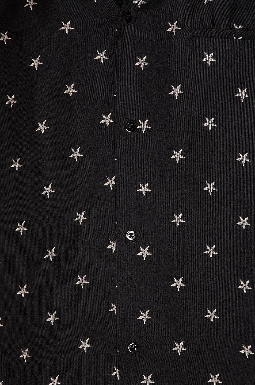 Image 5 of Amiri Star Short Sleeve Shirt in Tar