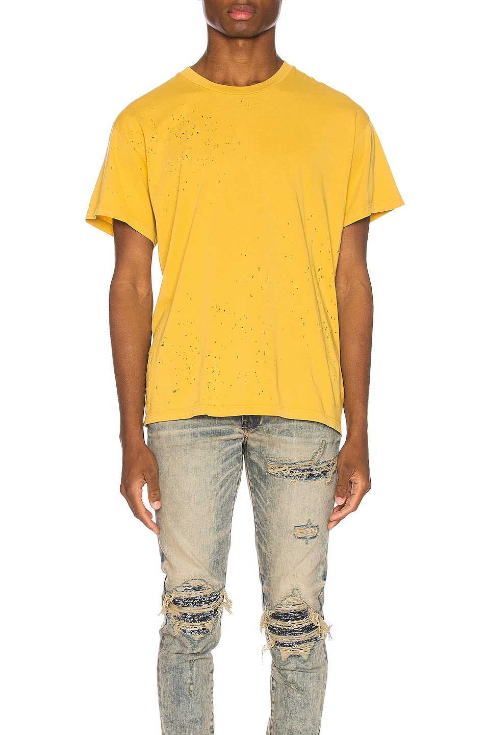 Image 1 of Amiri Shotgun Tee in Yolk
