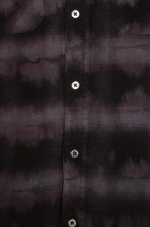 Image 5 of Amiri Tie Dye Shirt in Black & Grey