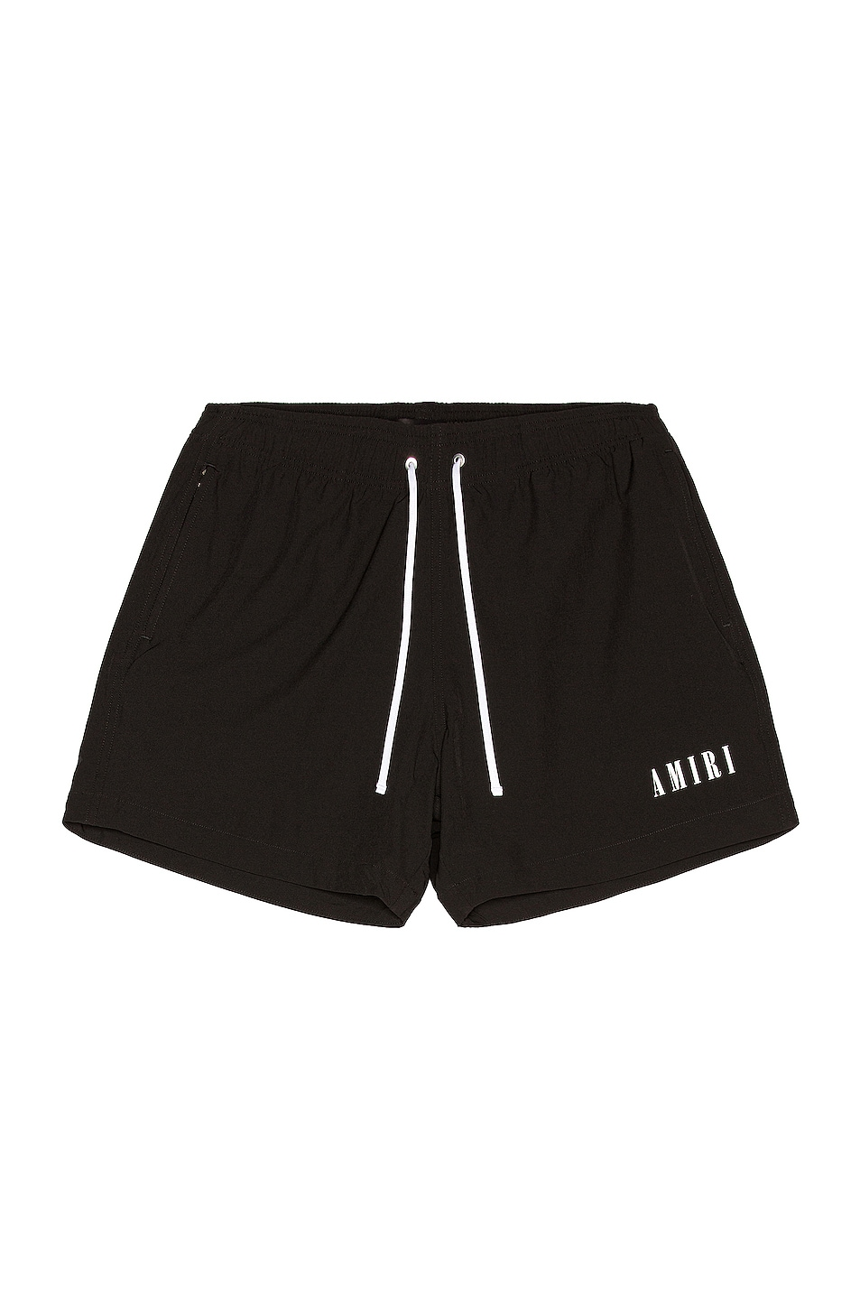 Image 1 of Amiri Logo Swim Trunk in Black