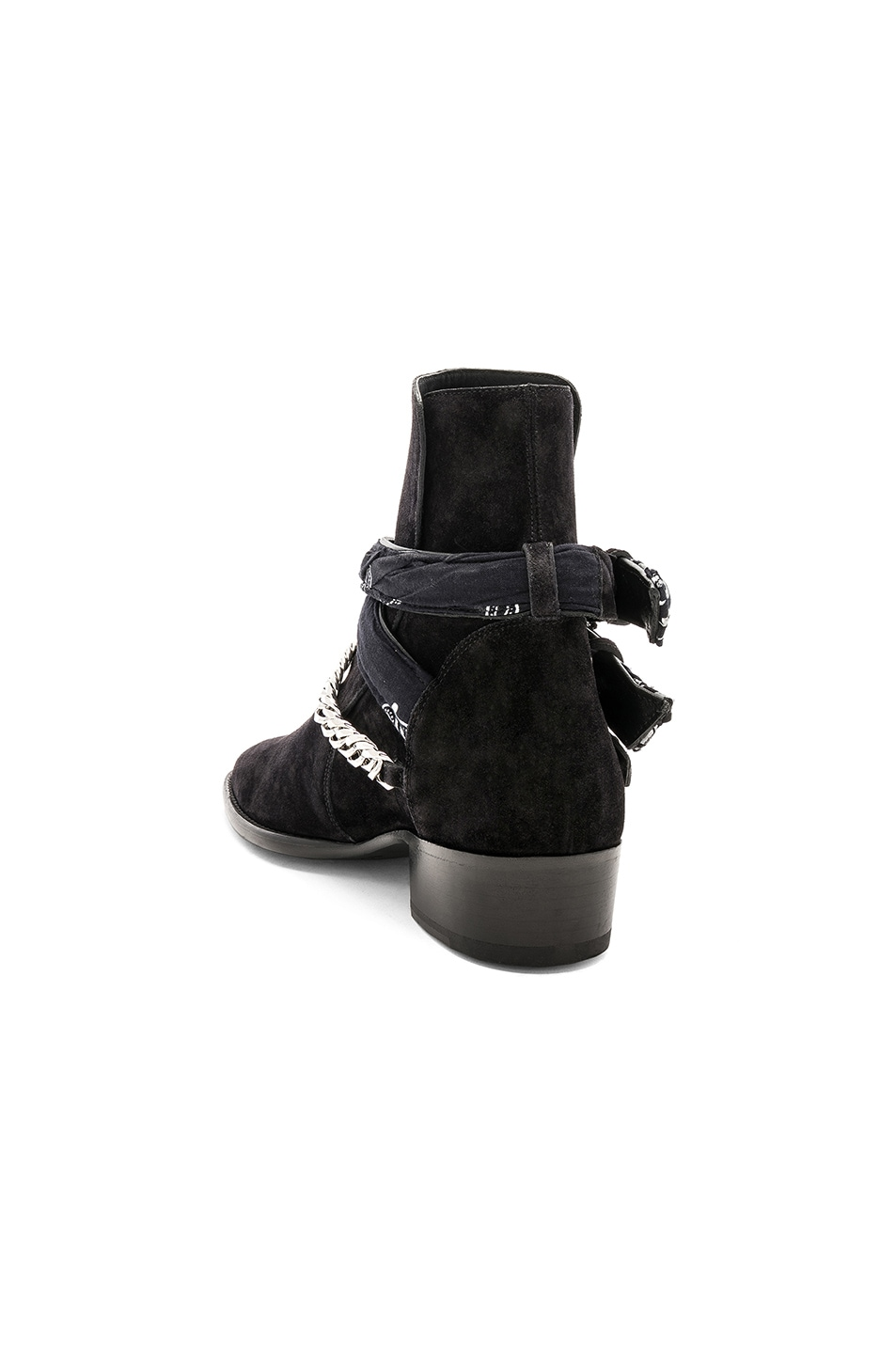 Image 3 of Amiri Bandana Buckle Boot in Black