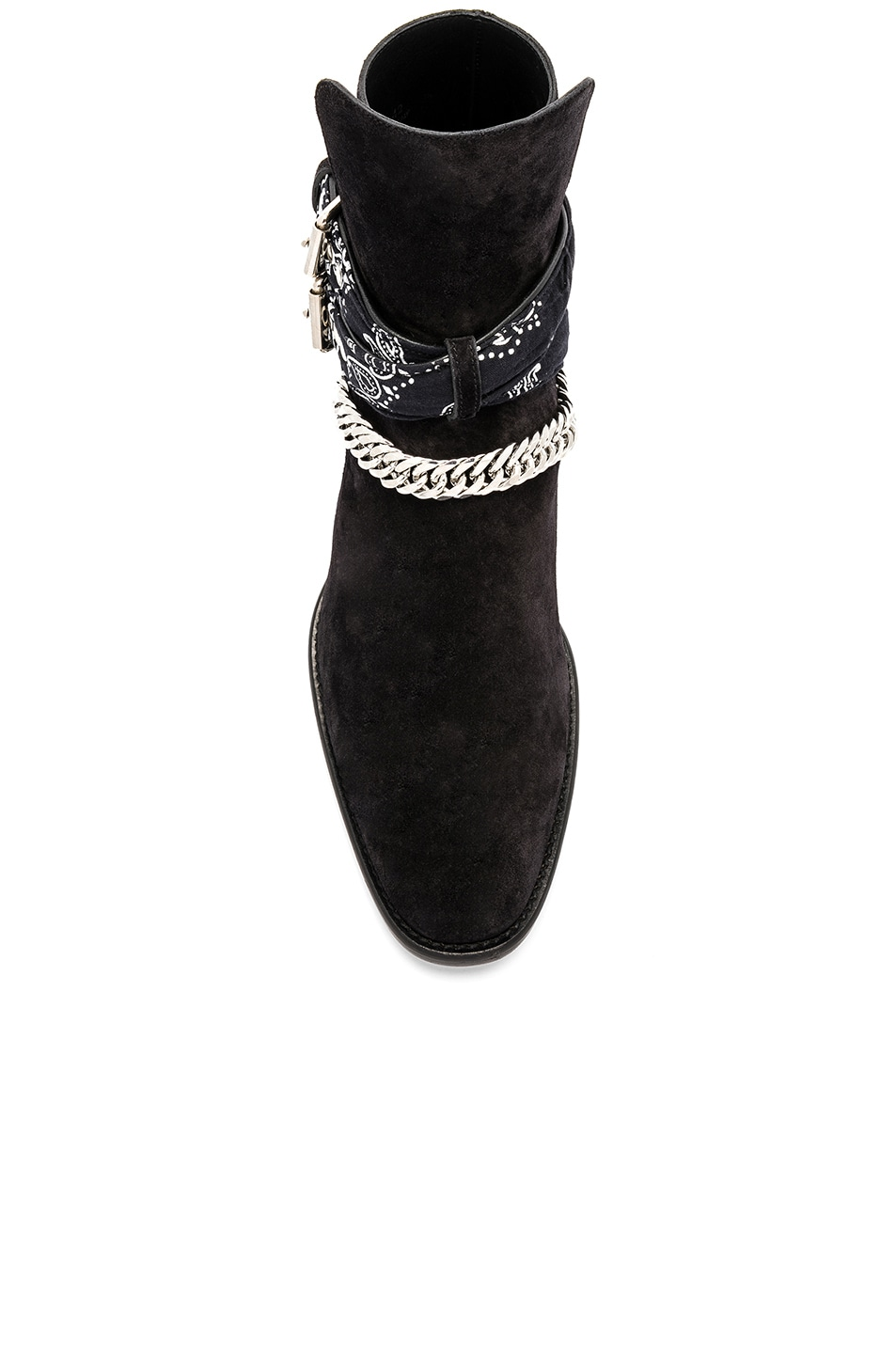 Image 4 of Amiri Bandana Buckle Boot in Black