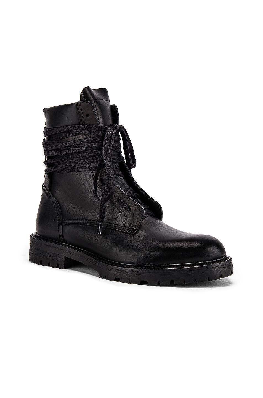 Image 1 of Amiri Combat Boot in Black