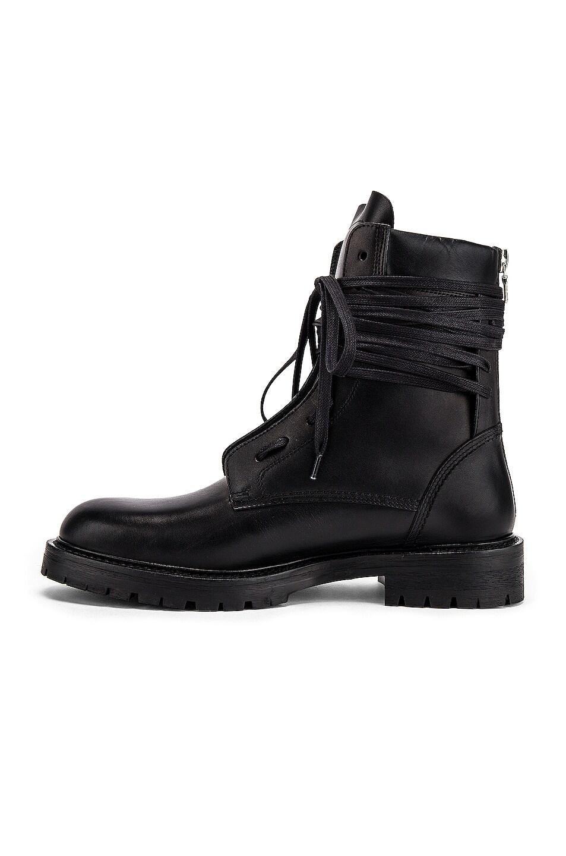 Image 5 of Amiri Combat Boot in Black