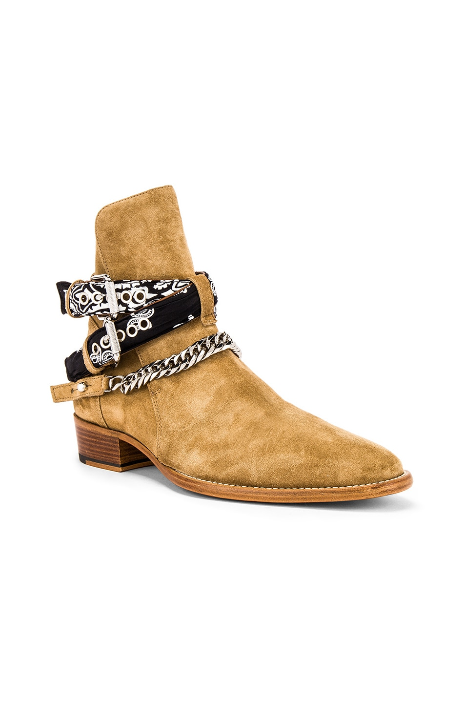 Image 1 of Amiri Bandana Buckle Boot in Fango