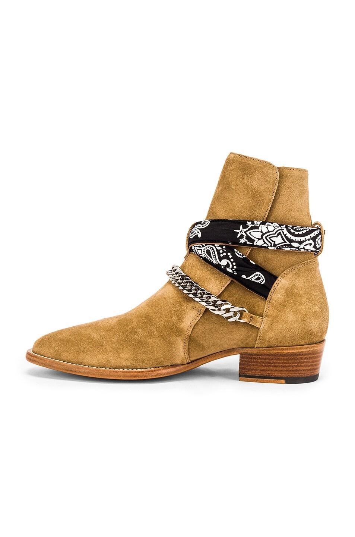 Image 5 of Amiri Bandana Buckle Boot in Fango