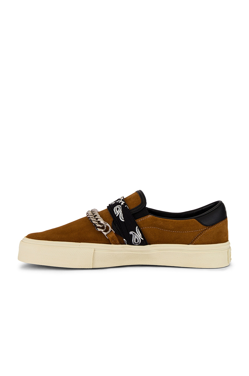 Image 5 of Amiri Bandana Buckle Slip On in Brown