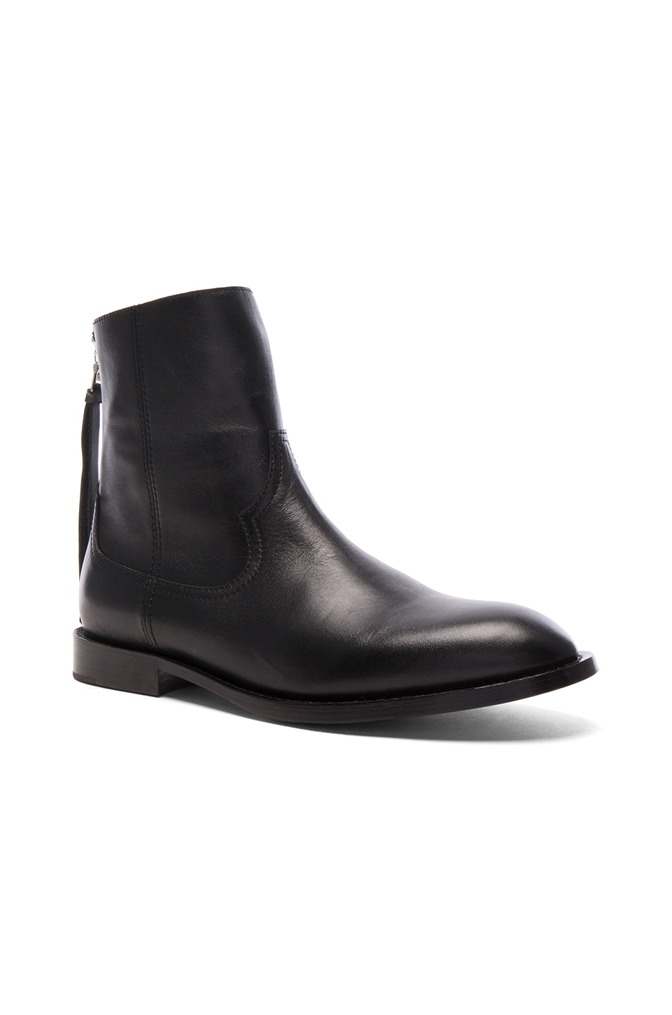 Image 1 of Amiri Leather Shane Boots in Black Leather