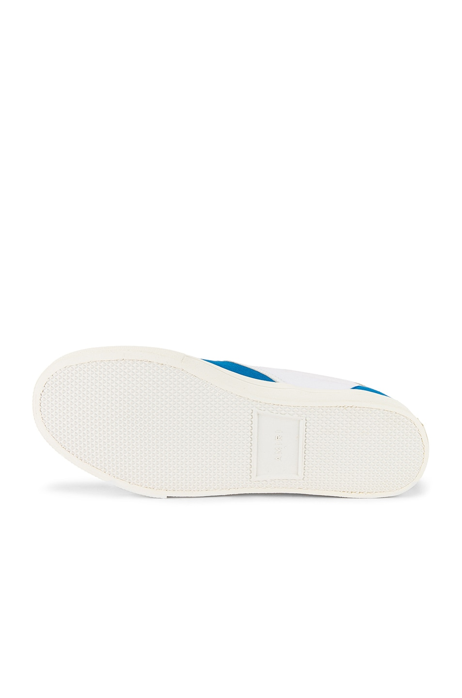 Image 6 of Amiri Skel Toe Slip On in Blue & White & White