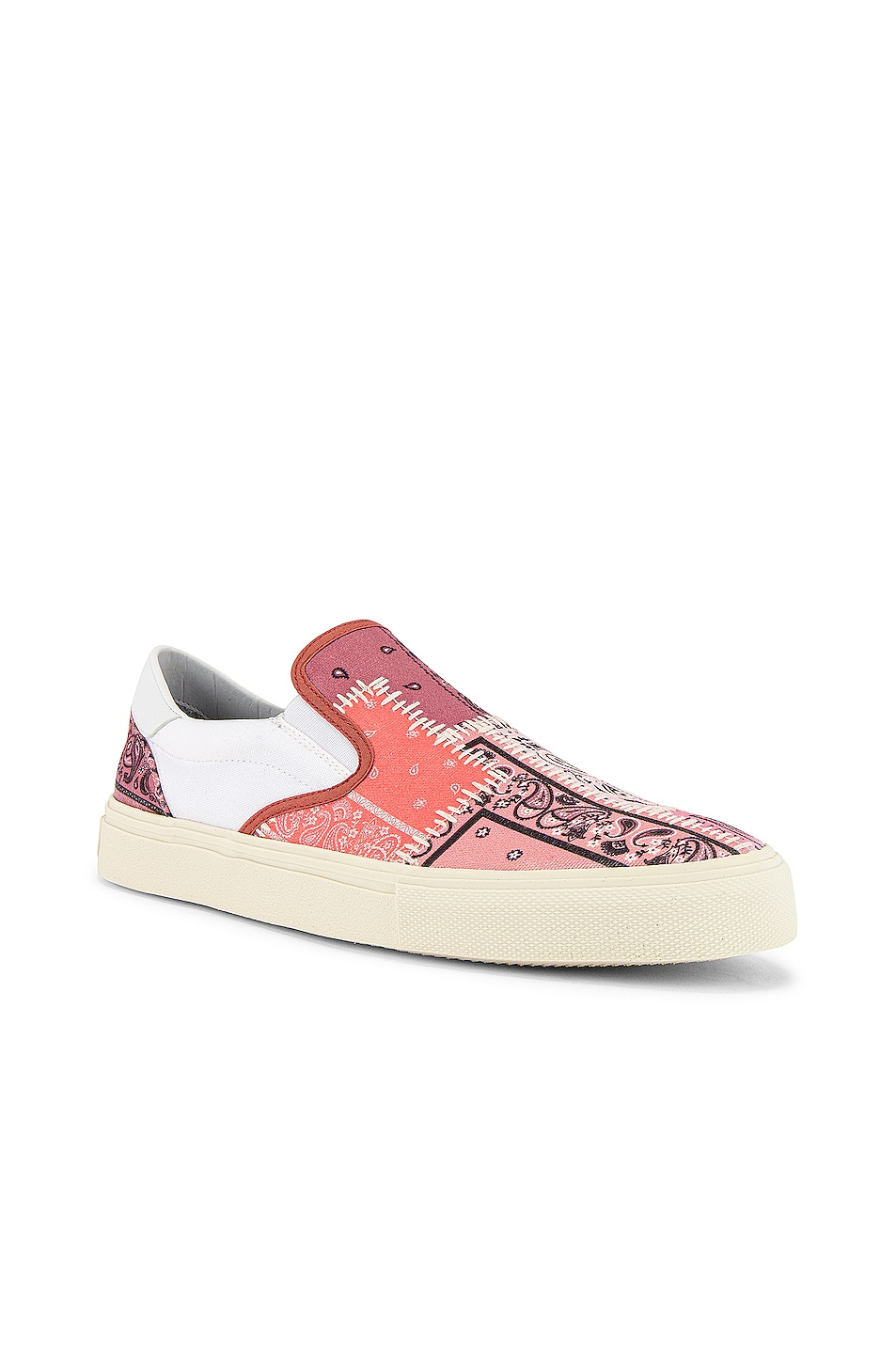 Image 1 of Amiri Bandana Reconstructed Slip On in Coral