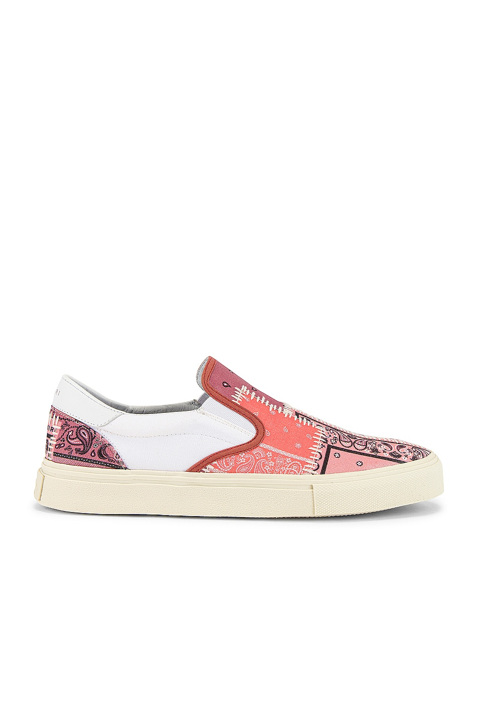 Image 2 of Amiri Bandana Reconstructed Slip On in Coral