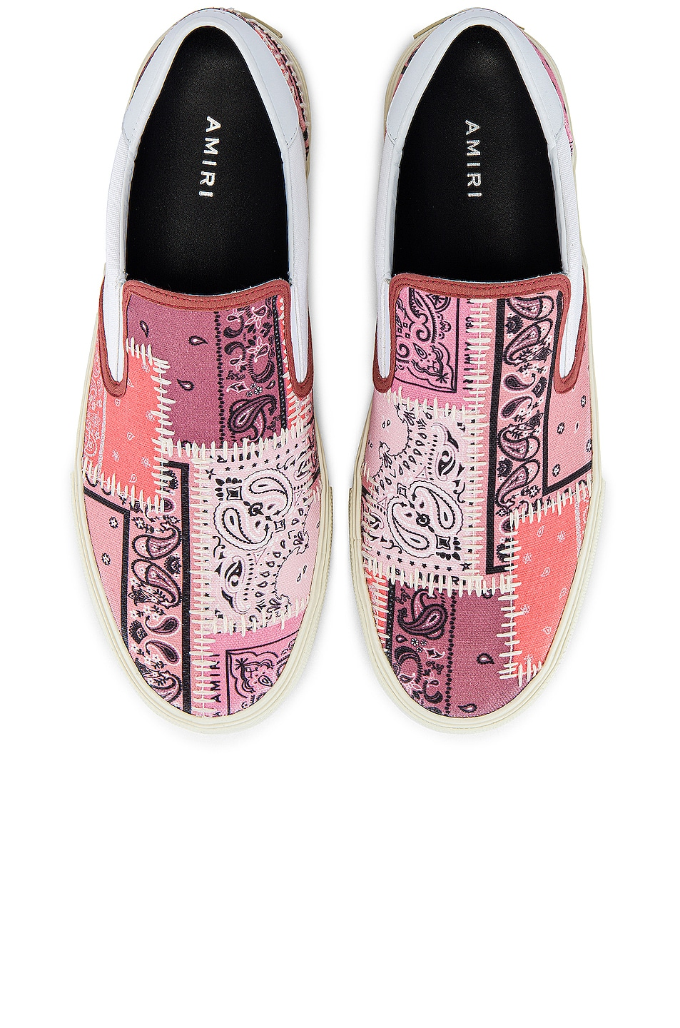 Image 4 of Amiri Bandana Reconstructed Slip On in Coral