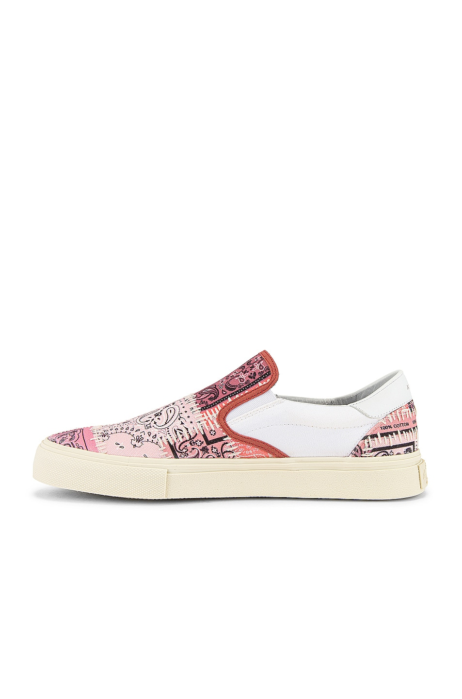 Image 5 of Amiri Bandana Reconstructed Slip On in Coral