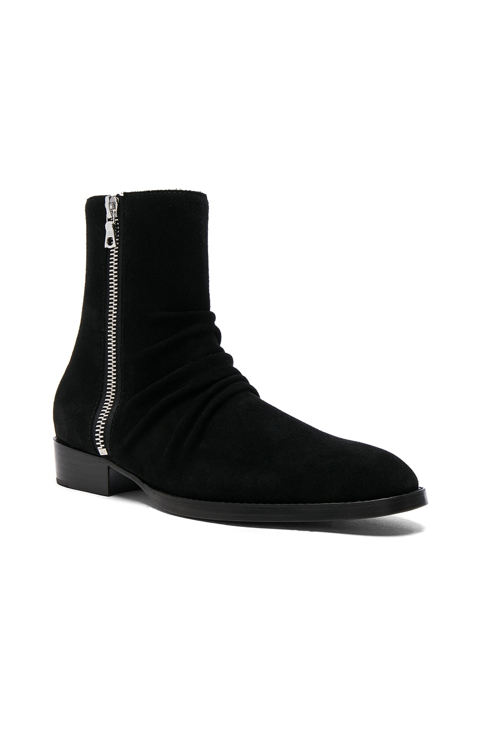 buy cheap release dates hot sale cheap online Amiri skinny stack boots AQcl4