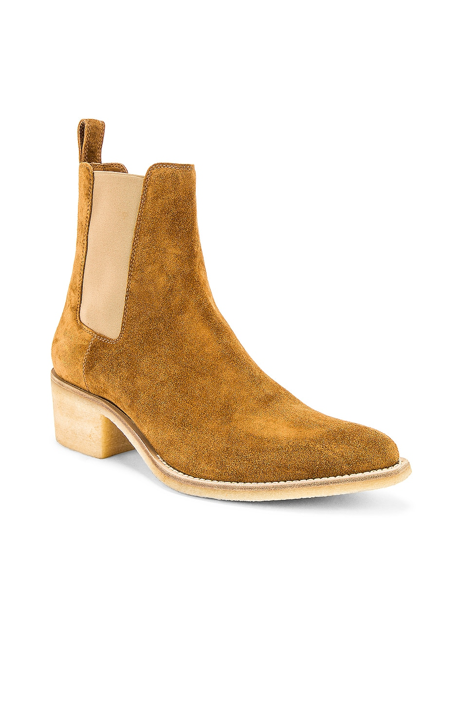 Image 1 of Amiri Crepe Chelsea Boot in Khaki