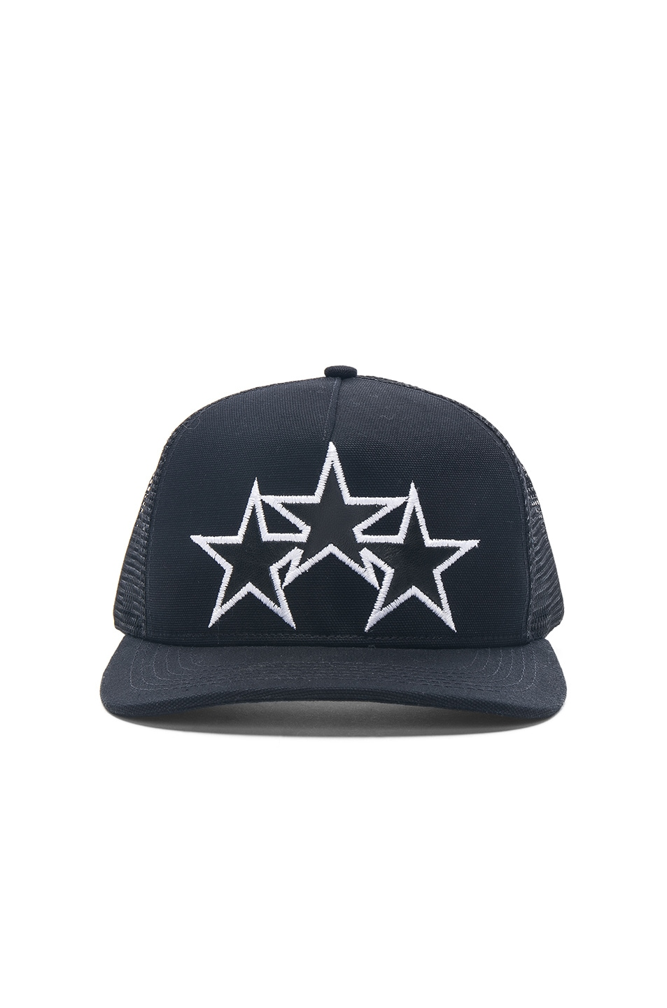 Image 1 of Amiri Star Trucker Hat in Black