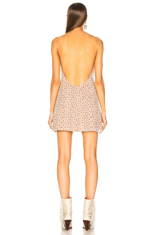 Image 3 of Amiri Floral Print Slip Dress in Pink