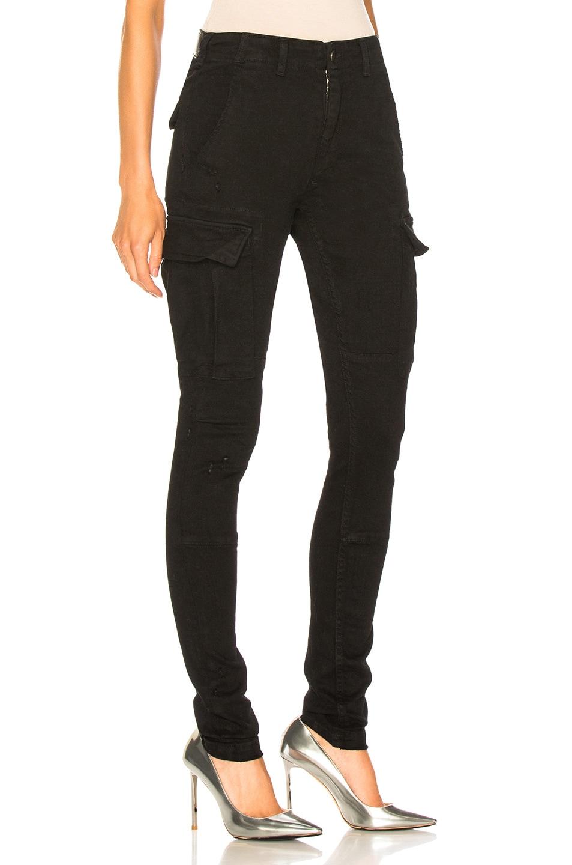 Image 2 of Amiri Cargo Skinny in Black