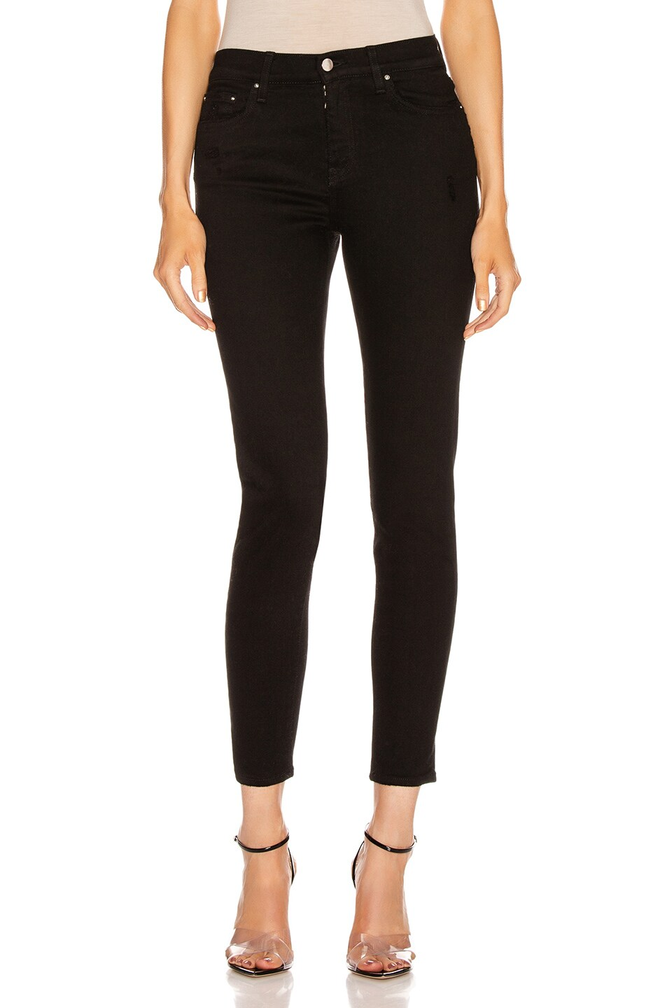 Image 1 of Amiri Stack Skinny in Black