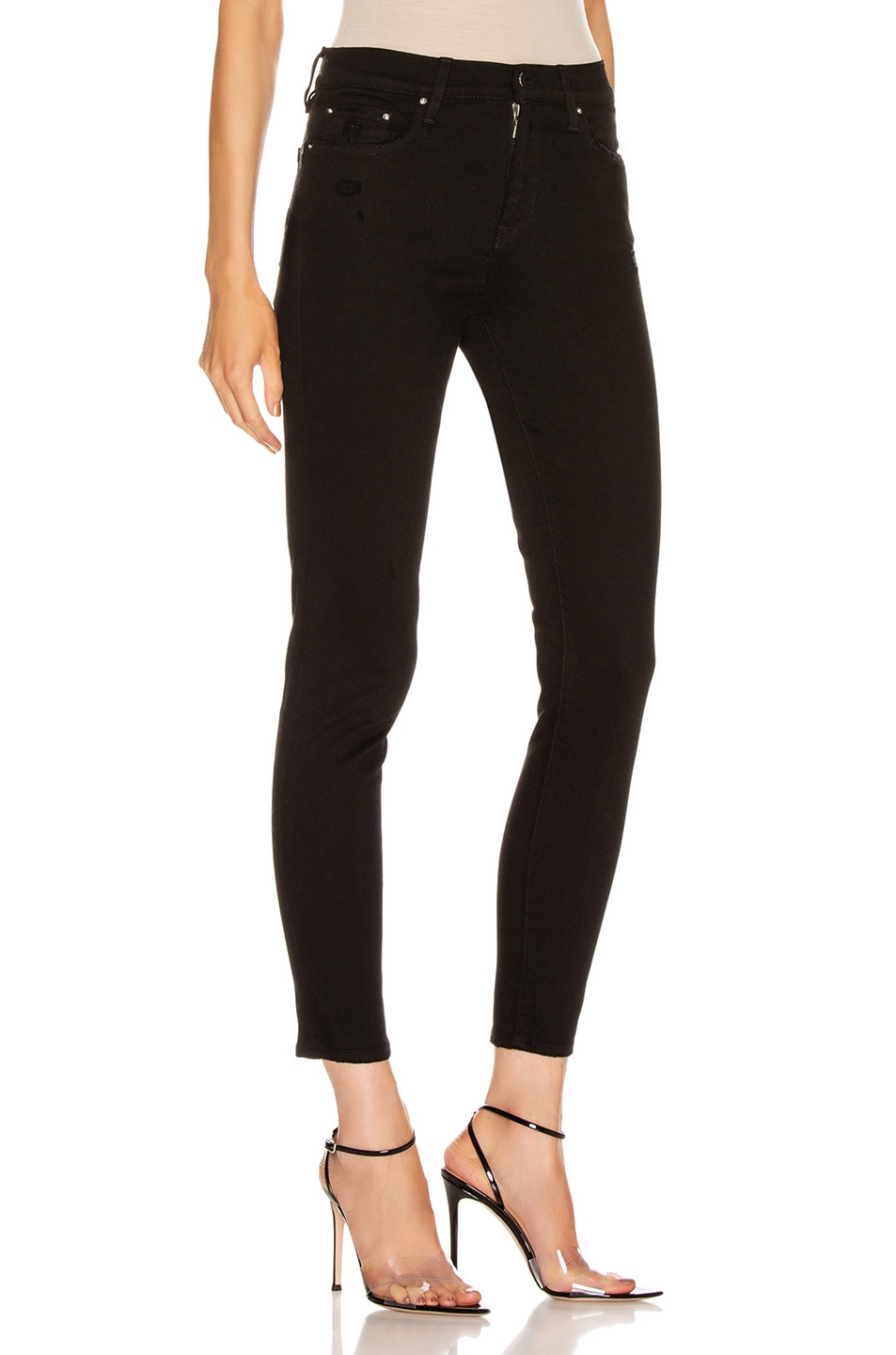 Image 2 of Amiri Stack Skinny in Black