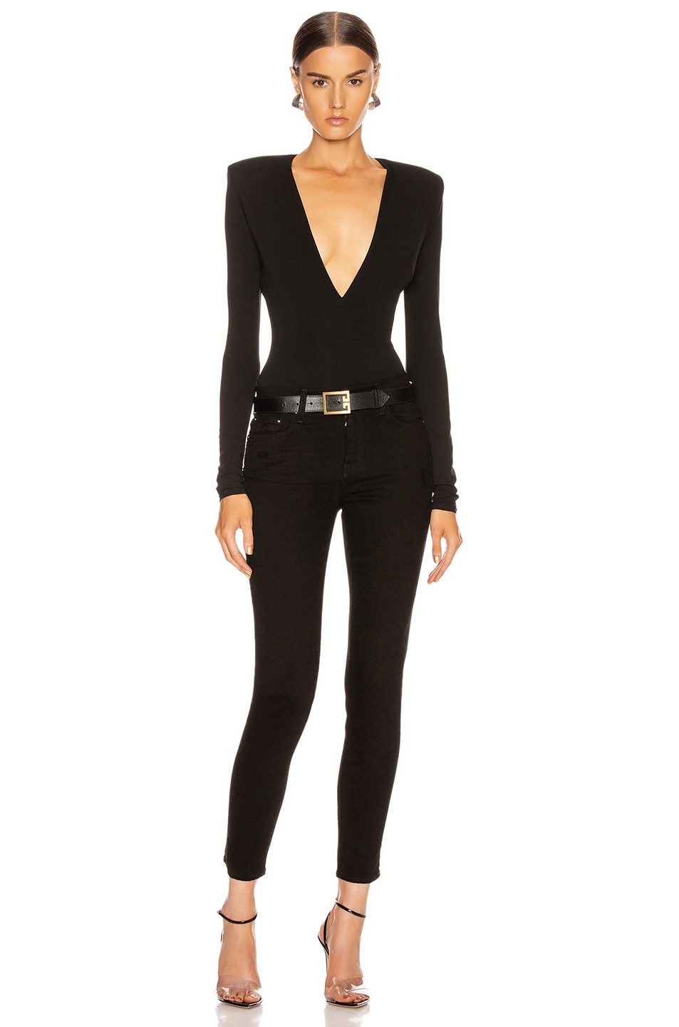 Image 4 of Amiri Stack Skinny in Black