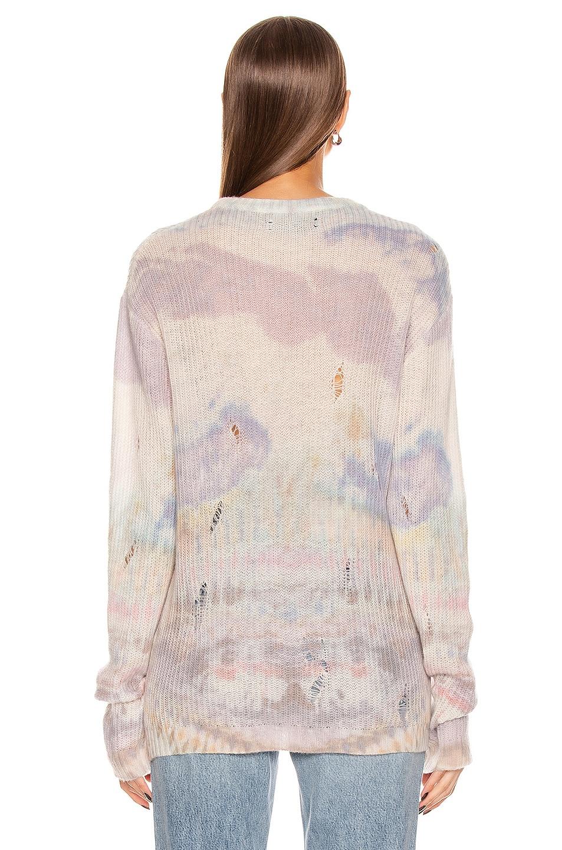 Image 3 of Amiri Tie Dye Sweater in Multi Color