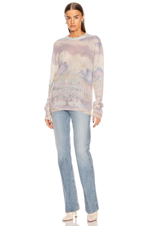 Image 4 of Amiri Tie Dye Sweater in Multi Color