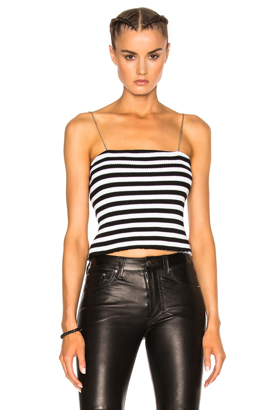 Black and White Tube Top
