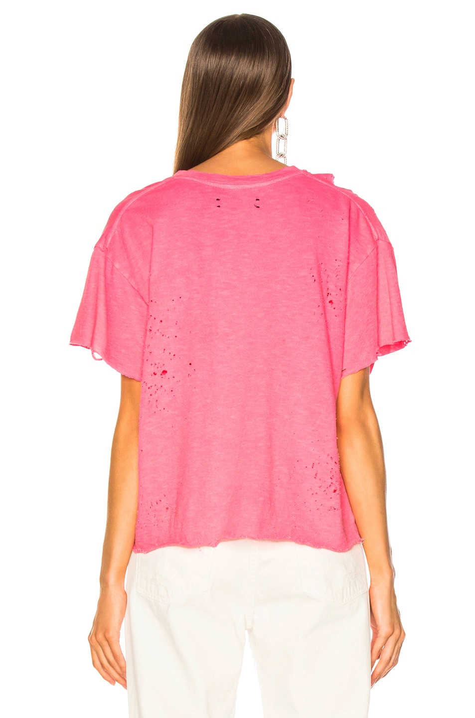 Image 5 of Amiri Slash Tee in Neon Pink