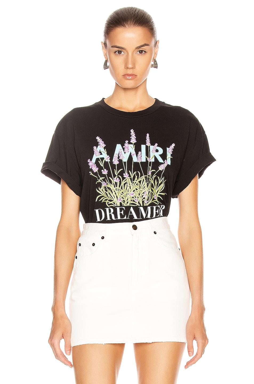 Image 1 of Amiri Flower Dreamer T Shirt in Black