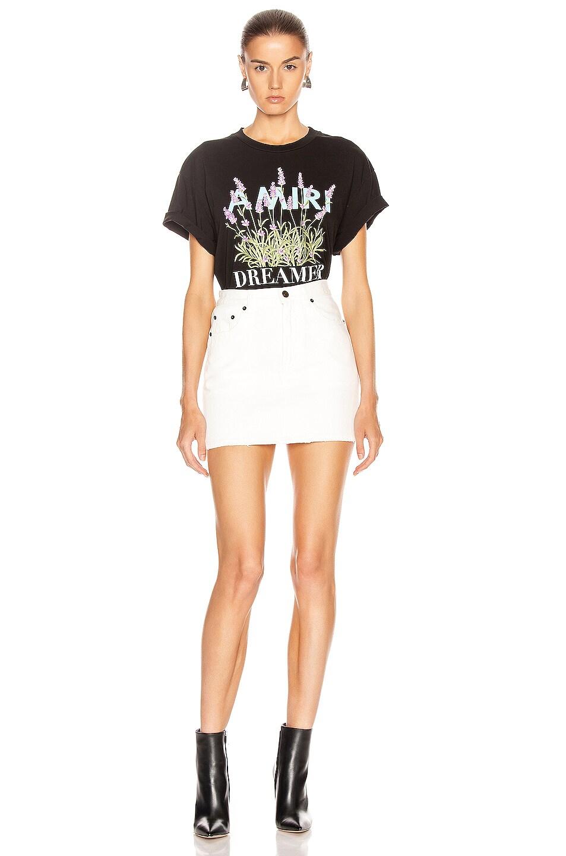 Image 4 of Amiri Flower Dreamer T Shirt in Black