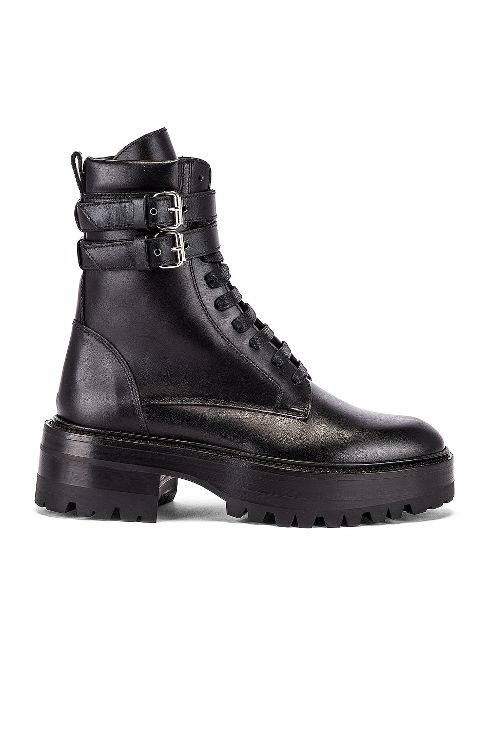 Image 1 of Amiri Combat Boot in Black