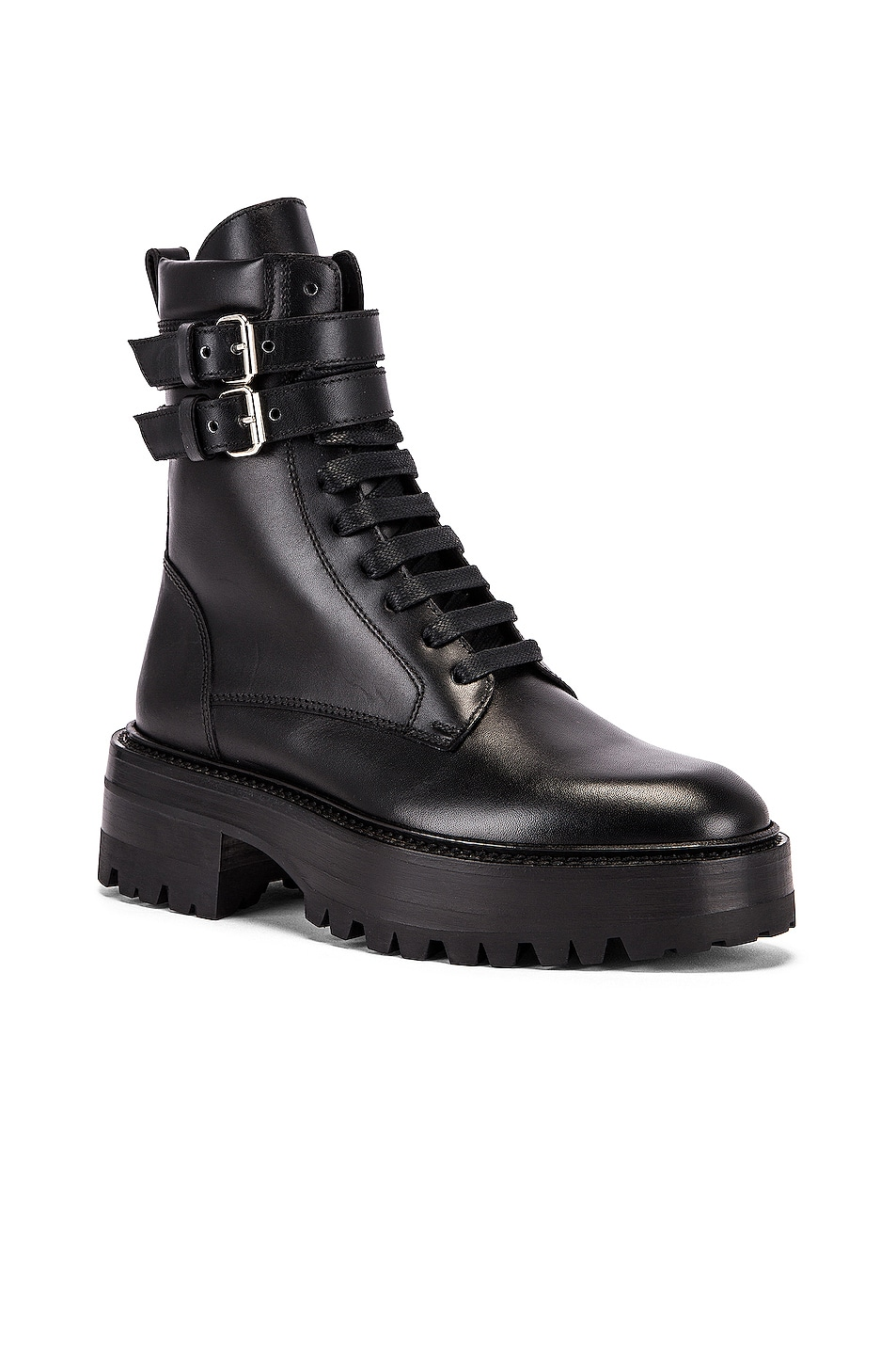 Image 2 of Amiri Combat Boot in Black