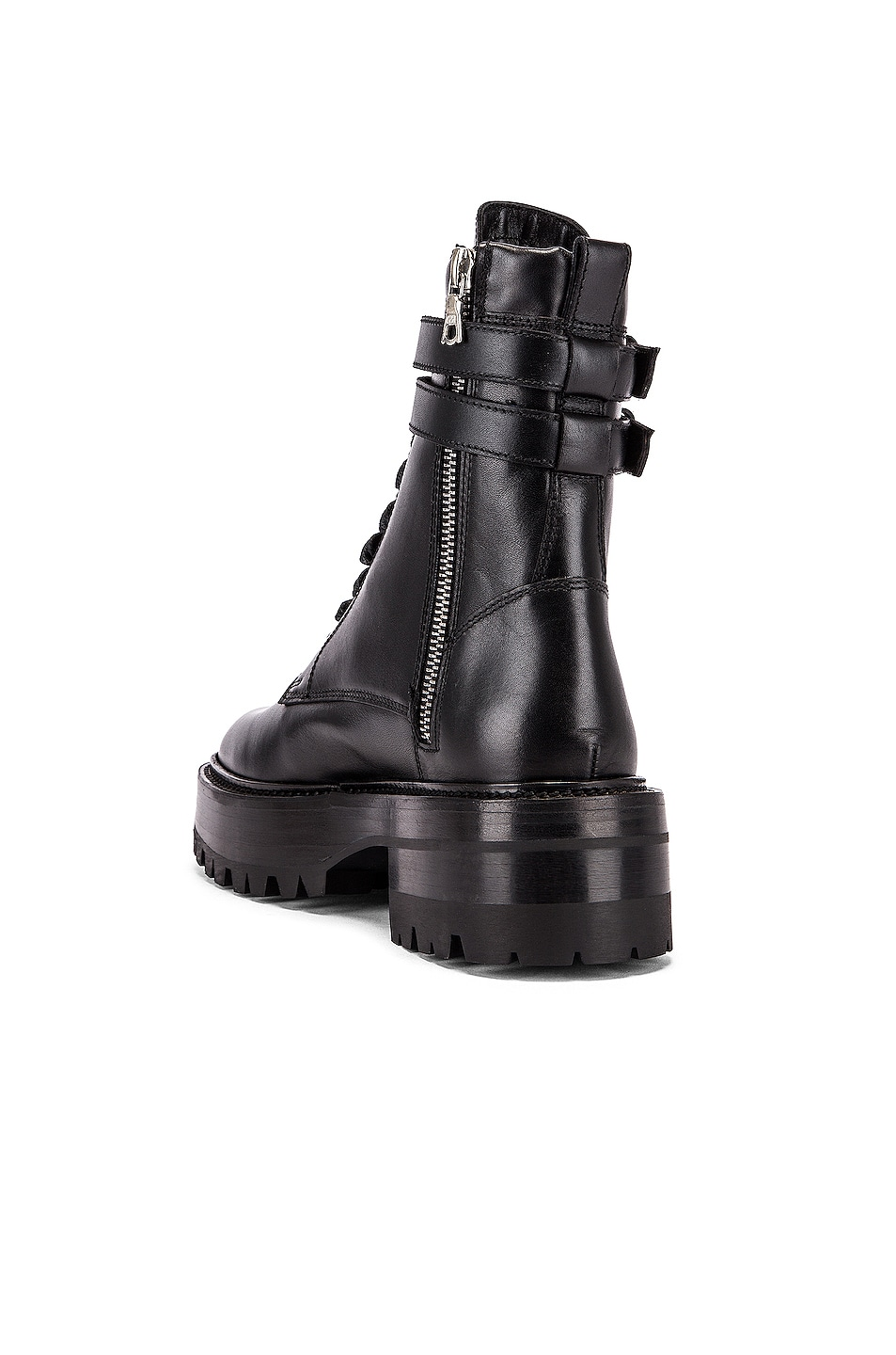 Image 3 of Amiri Combat Boot in Black