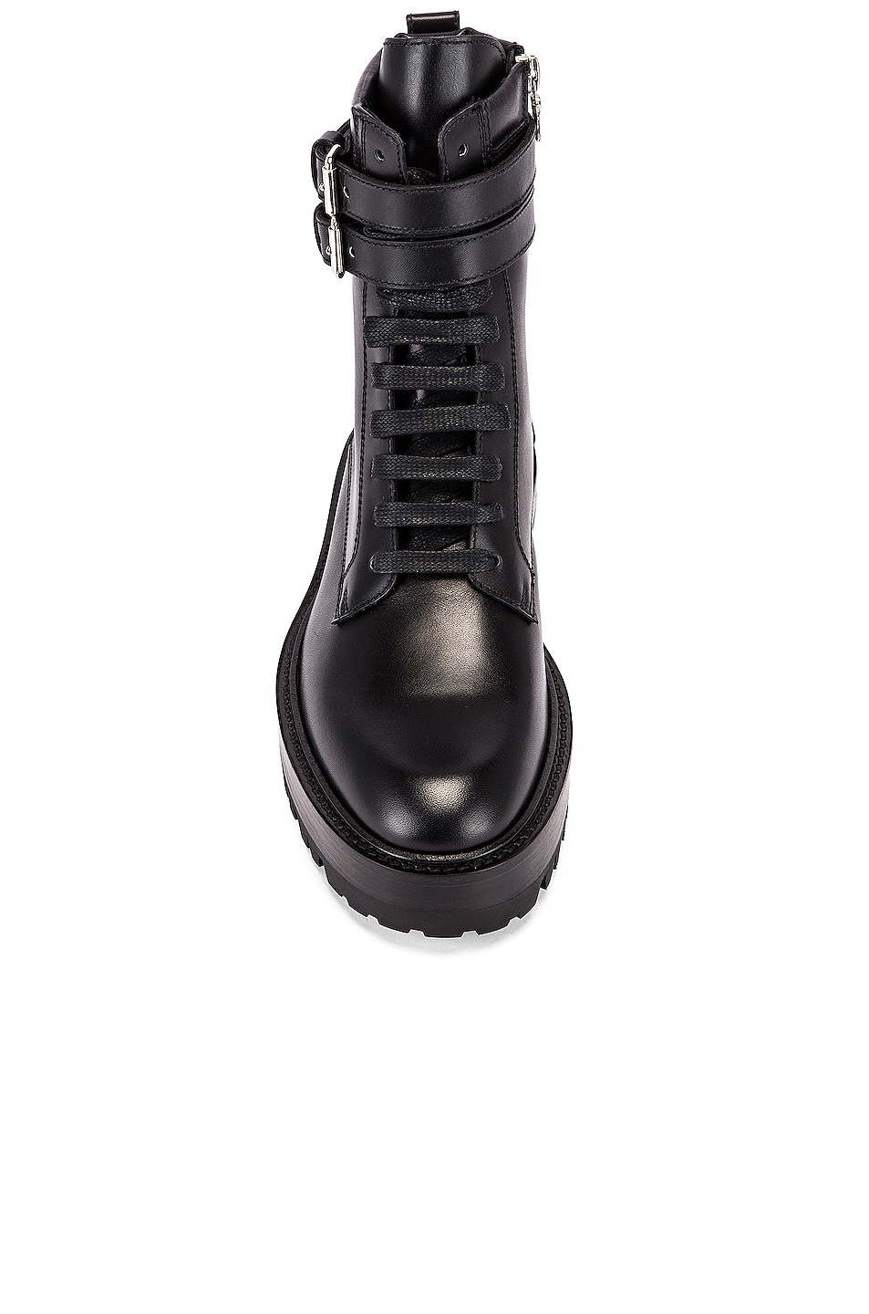 Image 4 of Amiri Combat Boot in Black
