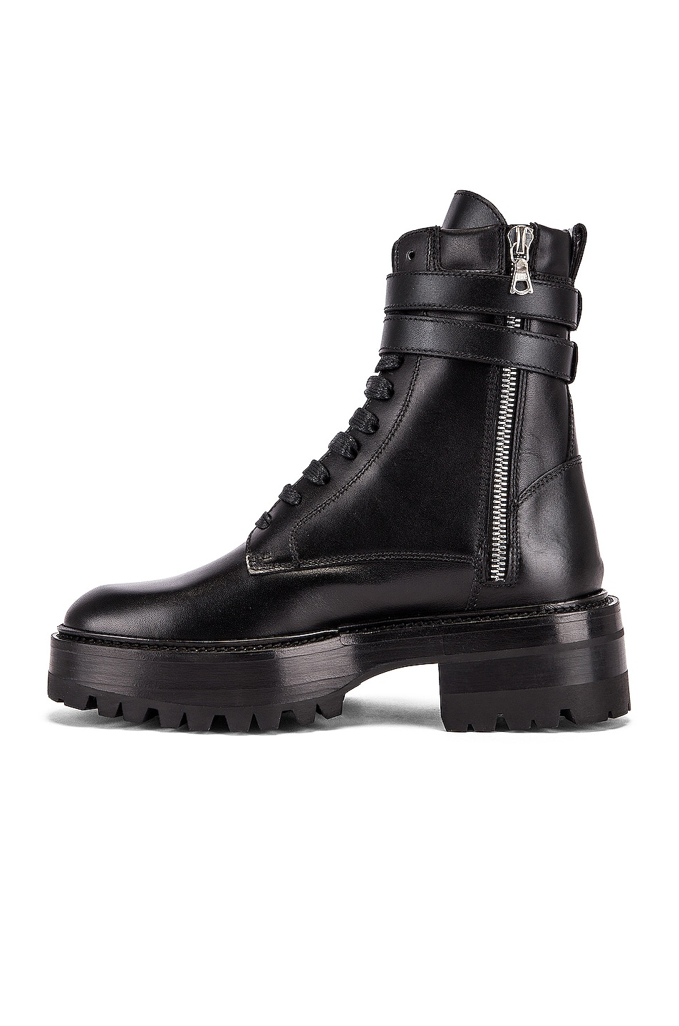 Image 5 of Amiri Combat Boot in Black