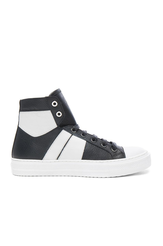 AMIRI White Leather Sneakers 100% Authentic For Sale aXOMYcz
